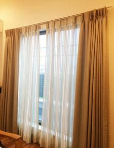 LDK掃出しカーテン